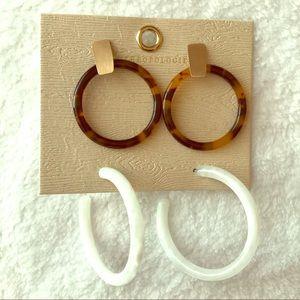 Anthropolgie Earrings Set!❗️MAKE OFFERS‼️